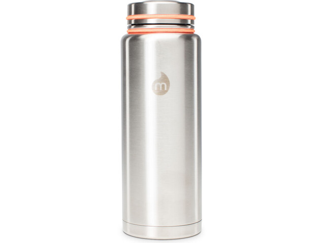MIZU V12 Insulated Bottle with V-Lid 1200ml Stainless with Black